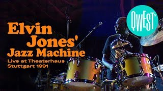 Elvin Jones Jazz Machine Live At Theaterhaus Stuttgart 1992 • NOW ON QWEST TV !