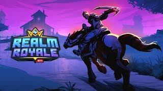 Realm Royale (PS4) - Closed Beta Live Stream