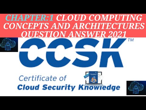 CCSK Certificate of Cloud Security Knowledge EXAM 2021|#CCSK ...