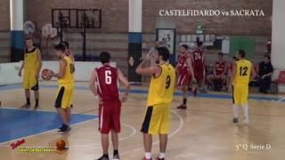 3°/4°Q CASTELFIDARDO BK vs SACRATA BK 15/10/2016 Serie D