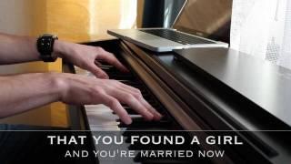 Someone Like You   Adele   Piano Karaoke With Lyrics