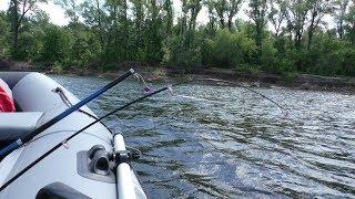 Наконец то Крупный ЛЕЩ пошёл. Ловля леща летом на кольцо. Рыбалка на леща на реке Волга 2018