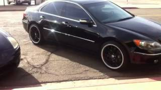 How To Remove Radio Navigation CD Changer From Acura RL For - Acura rl 2005 aux input