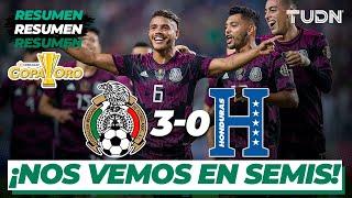 Resumen y goles | México 3-0 Honduras | Copa Oro 2021 - Cuartos | TUDN