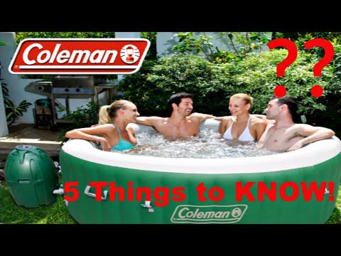 5 reasons NOT to buy a Coleman SaluSpa Hot Tub!