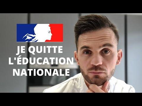 Je démissionne ⚠️ Pourquoi je quitte l'éducation nationale?