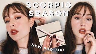 Scorpio Season Makeup Ft. NEW GLOSSIER Pro Tip! 🖤