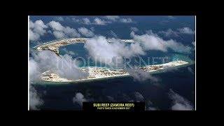 外国公布中国南海岛礁高清航拍:设施一应俱全(组图)