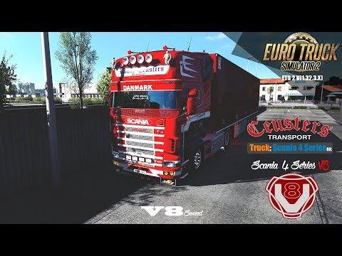 ETS2] Euro Truck Simulator 2 1 32 - Scania 4 series 164L - Trailer