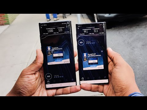 Testing Verizon 5G on a Galaxy Note 10+ 5G
