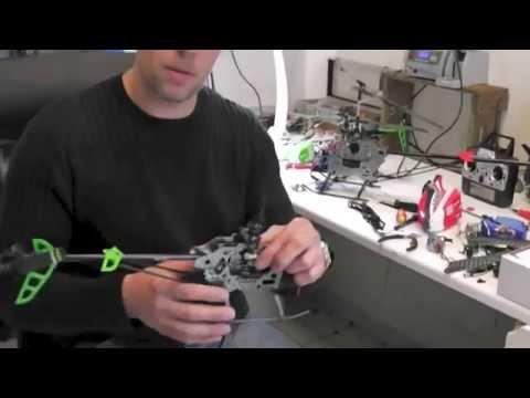 Service - Reparatur von F645 RC Heli - Tipps und Tricks von Gobelus.de
