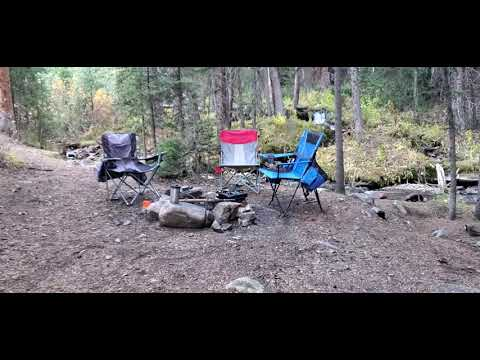 Video Of Saints John Trail Roadside Campsites, CO