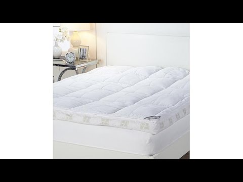 """Concierge Collection Ultimate Pillowtop 6"""" Featherbed"""
