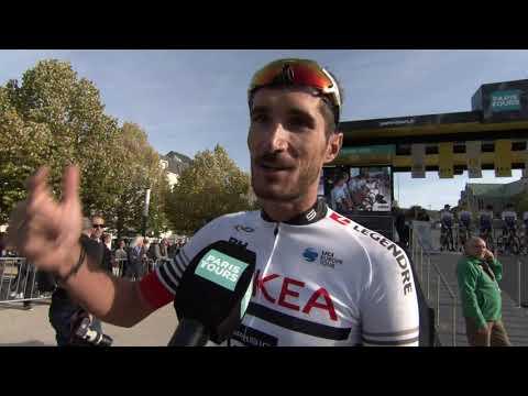 Brice Feillu - interview au départ - Paris-Tours 2019