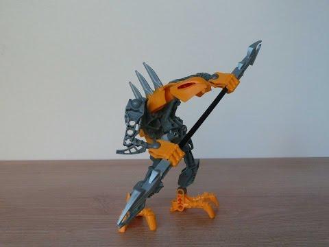 Vidéo LEGO Bionicle 7138 : Rahkshi
