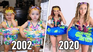Recreating Our CHILDHOOD Fashion Outfits   Brooklyn & Bailey