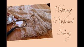 Exploring Antique Clothing: A Look Inside An Edwardian Childs Tea Dress