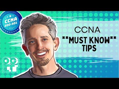 3 Tips to Pass the CCNA | Cisco CCNA 200-301 - YouTube
