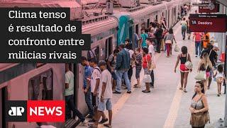 Milicianos interrompem tráfego de trens no Rio de Janeiro