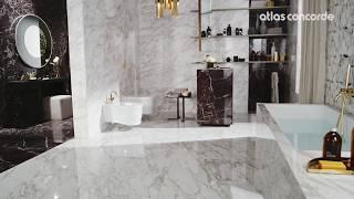 Luxury Bathroom | Marble Effect | Marvel Edge