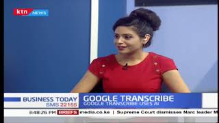 ''Google Transcribe'' Google Launches live transcribe app,