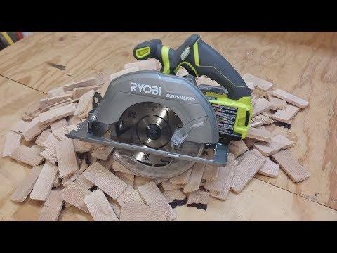 Ryobi One+ 18V Brushless Cordless 7-1/4″ Circular Saw Review
