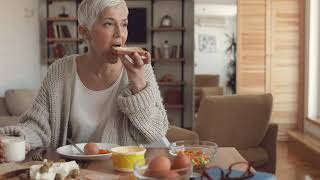 Why are healthy eating patterns important for older adults?