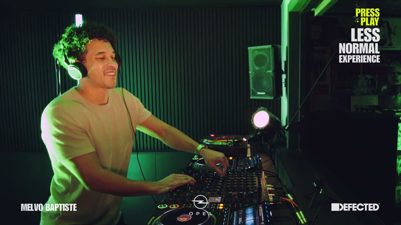 Melvo Baptiste - Live @ Opel x Defected: Press Play: Less Normal Experience 2021