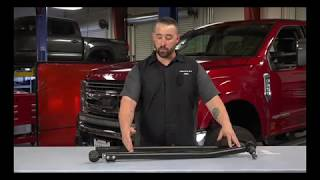 ReadyLIFT: Heavy-Duty Adjustable Front Track Bars for '05-'19 Ford Super Duty 4WD