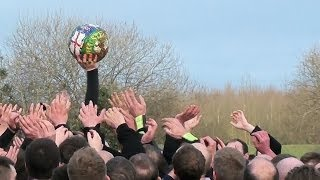 preview picture of video 'Ashbourne Shrovetide Football, Weds 5th Mar 2014. Pt 7 of 9'