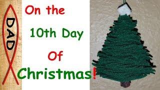DIY - Felt Christmas Tree Ornament