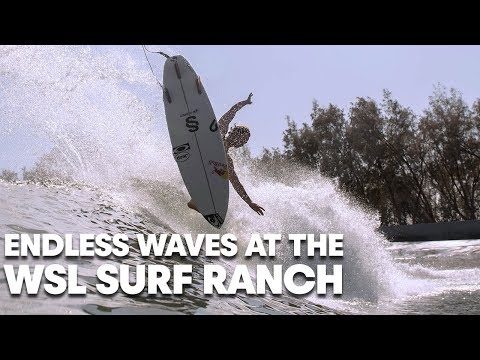 Endless Waves at the WSL Surf Ranch with Kolohe, Carissa, Caroline, Jordy and Kanoa