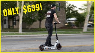 I BOUGHT the most AVERAGE-PRICED Electric Scooter on Amazon ($639)