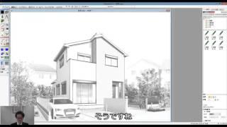 Piranesi6.2動画手描き感を強調する表現テクニック1