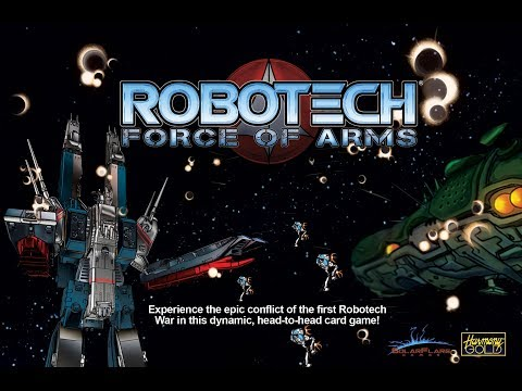 ROBOTECH: Force of Arms - Card Game Play Overview (Rules Video Supplement)