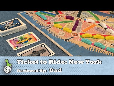 Hit the Big Apple for a quick TTR bite - The Board Game Family review