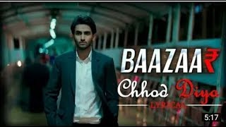 Chod Diya Wo Rasta | 3-D Song | Arijit Singh | Baazaar 1080P HD | Music India
