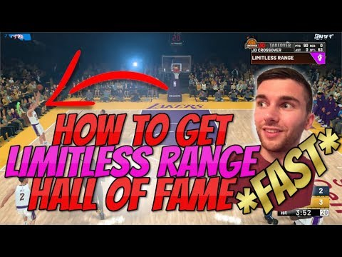 NBA 2K19 | HOW TO GET LIMITLESS RANGE FAST & EASY (BADGE GUIDE