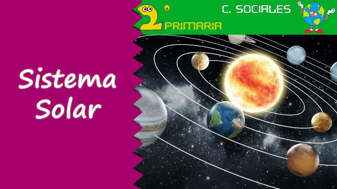 Ciencias Sociales. 2º Primaria. Tema 5. El Sistema Solar