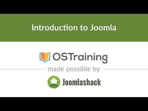 Joomla Beginner Class, Lesson #1: Introduction to Joomla - YouTube