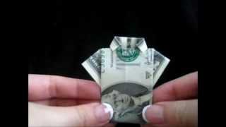 Origami Dollar Bill T-Shirt