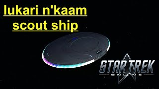 Star Trek Online - Lukari Scout Ship Gameplay