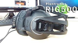 סקירה לאוזניות הגיימינג Plantronics RIG500