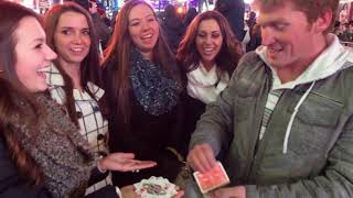 New Year's Kiss Card Trick
