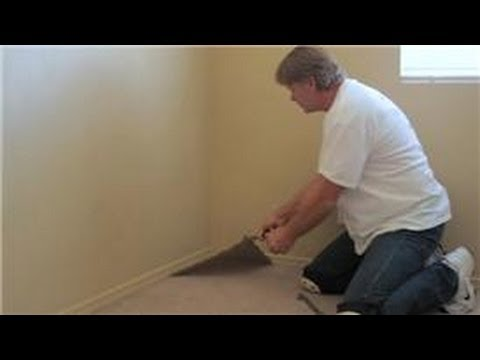 Carpet Cleaning & Installation : How to Remove Wall-to-Wall Carpeting