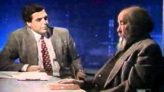 """Солженицын о войне в Чечне и демократии в России. """"Взгляд"""" 1994 год"""