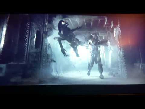 Aliens vs predator battle