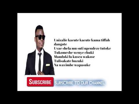Harmonize Ft Korede Bello - Shulala Ofiicial Lyrics ( With Music ON)