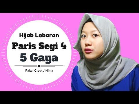 Video Paris Segi Empat Untuk Lebaran Simple 5 Gaya #NMY Hijab Tutorials