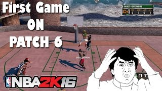 FIRST Game on PATCH 6 | Patch Notes | Rip Speed Boosting | NBA 2K16